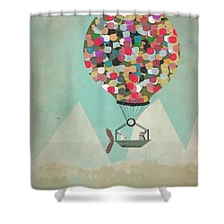 A Little Adventure Shower Curtain