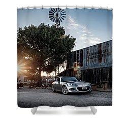 Shower Curtain featuring the digital art Little Drop Of Sunshine by Douglas Pittman