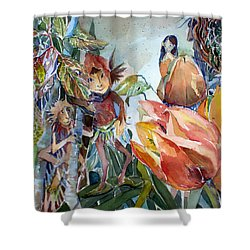 A Little Magic Shower Curtain