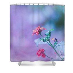 A Little Softness, A Little Color - Macro Flowers Shower Curtain