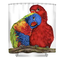 A Little To The Left Shower Curtain