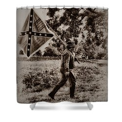 A Long Walk Home Shower Curtain by Bill Cannon