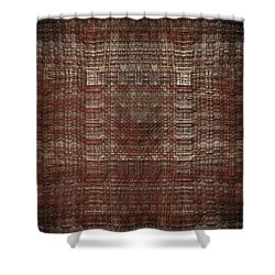 Shower Curtain featuring the photograph A Loose Weave Simulation by Richard Ortolano