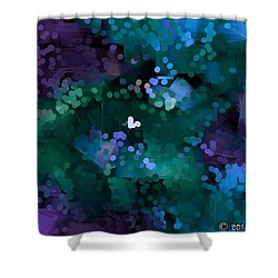 A Love Song Shower Curtain