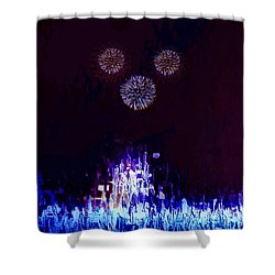 A Magical Night Shower Curtain