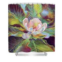A Magnolia For Maggie Shower Curtain by Susan Jenkins