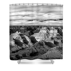 Shower Curtain featuring the photograph A Maze by Jon Glaser