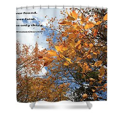 A Measure Of Success Shower Curtain by Mary Haber