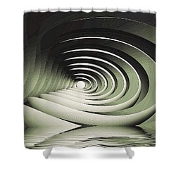 A Memory Seed Shower Curtain
