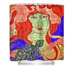 A Mermaids Life Shower Curtain