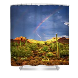 Shower Curtain featuring the photograph A Miracle Of Timing by Rick Furmanek