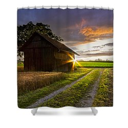 A Moment Like This Shower Curtain by Debra and Dave Vanderlaan
