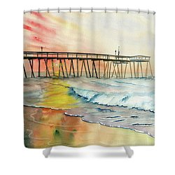A Moment Of Peace Shower Curtain