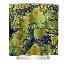 The Sweet Confusion Shower Curtain by Moustafa Al Hatter
