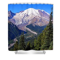 Shower Curtain featuring the photograph A Morning View by Lynn Hopwood