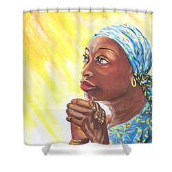 A Mothers Prayer Shower Curtain