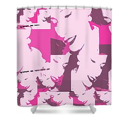 A Multitude  Shower Curtain