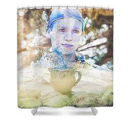 A Mystical Brew Shower Curtain