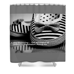 Shower Curtain featuring the photograph A New Beginning by Patrice Zinck