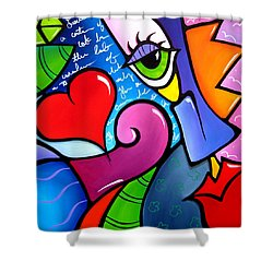 A New Chapter Shower Curtain by Tom Fedro - Fidostudio
