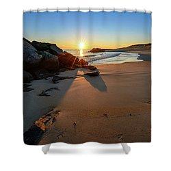 A New Dawn Shower Curtain