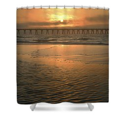 A New Day Dawning Shower Curtain by Renee Hardison