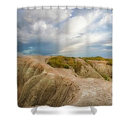 A New Day Panorama Shower Curtain