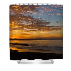 Shower Curtain featuring the photograph A New Day by Lora Lee Chapman