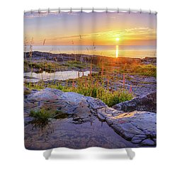 Shower Curtain featuring the photograph A New Day's Born by Dmytro Korol
