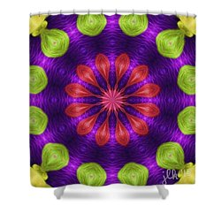 A New Hairstyle Shower Curtain