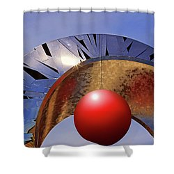 Shower Curtain featuring the photograph A New Horizon by Christopher McKenzie