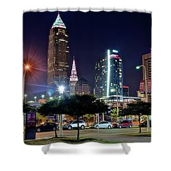 A New View Shower Curtain