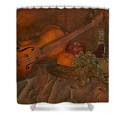 A Night Of Love Shower Curtain