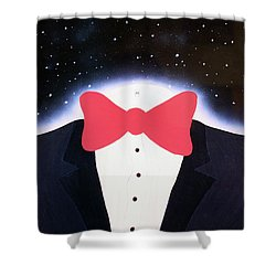 A Night Out With The Stars Shower Curtain