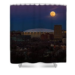 A Night To Remember Shower Curtain by Everet Regal