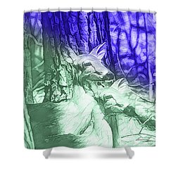 A Pair In Colors  Shower Curtain