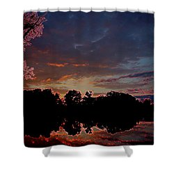A Passing Memory Shower Curtain