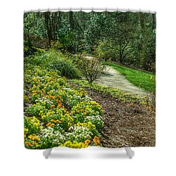 A Path Of Color Shower Curtain