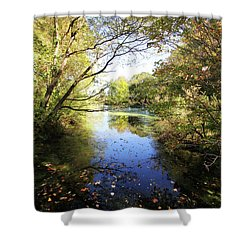 A Peaceful Afternoon Shower Curtain