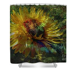 A Peaceful World Shower Curtain by Kathie Chicoine