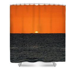 A Peek Of Dawn Shower Curtain