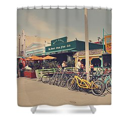 A Perfect Day For A Ride Shower Curtain by Laurie Search