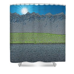 A Perfect Ending Shower Curtain by Tim Allen