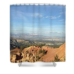 A Perfect Spot At Bryce Canyon Shower Curtain