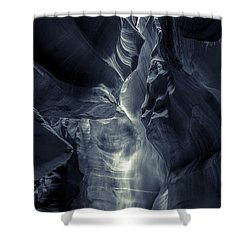 A Phantom Emerges From Antelope Canyon Shower Curtain