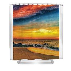 Beach Colors Shower Curtain