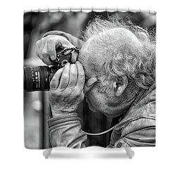 A Photographers Photographer Shower Curtain