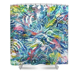 Joy In Action Shower Curtain