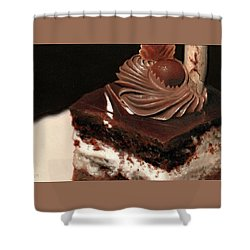 A Piece Of Cake Shower Curtain