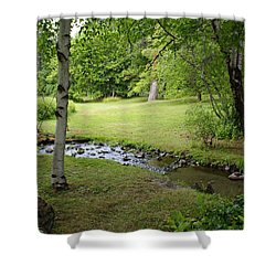 Shower Curtain featuring the photograph A Place To Dream Awhile by Ben Upham III